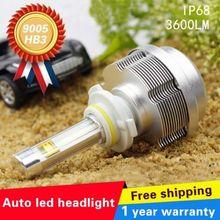 2015 2nd Gen Pack of 2 ETI LED 30W Xenon White 9005 HB3 H10 3600LM LED High Power Fog Driving Headlight DRL Bulb High Beam(China (Mainland))