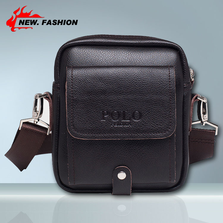 famous brand design leather men bag,casual leather men messenger bag,men bag genuine leather vintage fashion mens cross body bag(China (Mainland))