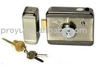 electric Door Lock with mechanical keys, special used for intercom system  PY-EL1