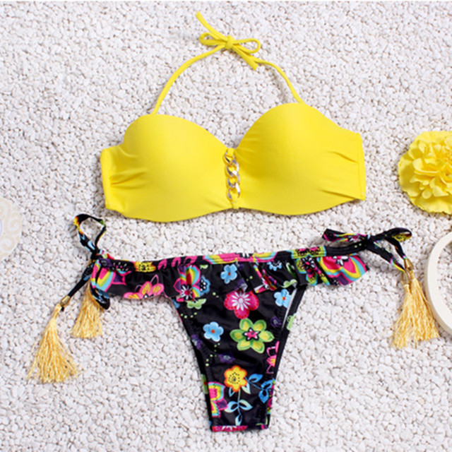 Brazilzian Style Bikini Sets With Push Up