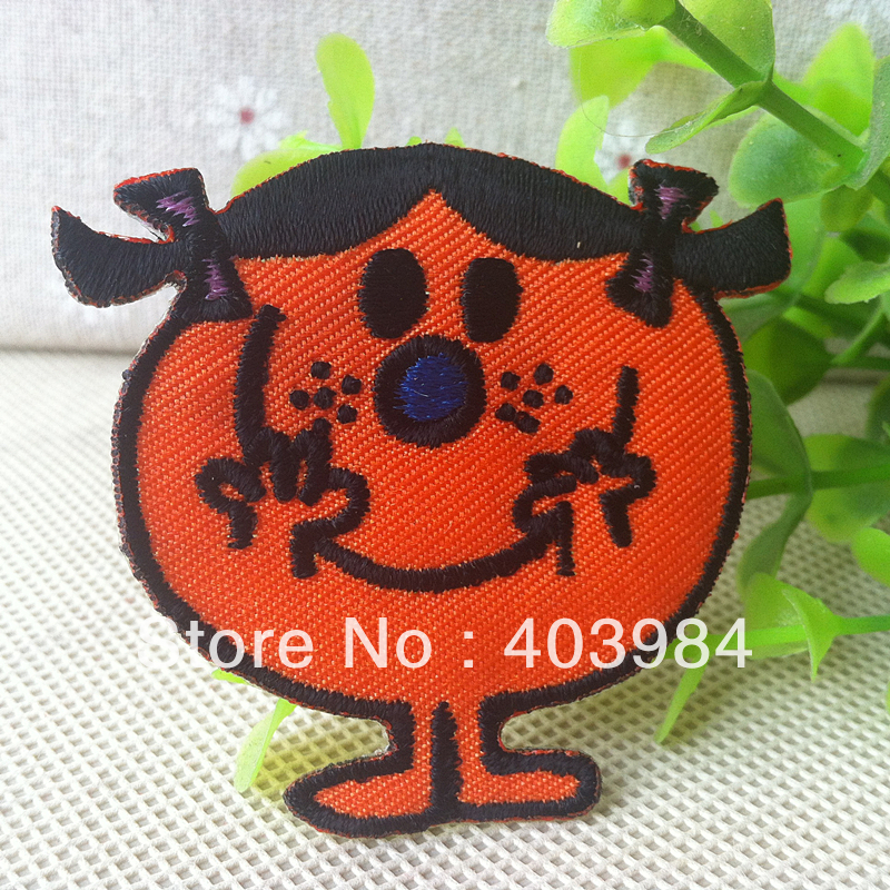 ~1 Embroidered Miss Miao Sew Iron Patch Applique Badge - Mackie Wong's store