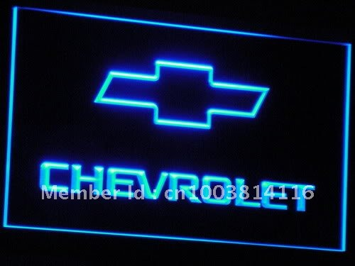 d032-b CHEVROLET LED Neon Light Sign(China (Mainland))