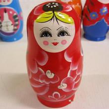 russian matryoshka nesting dolls promotion