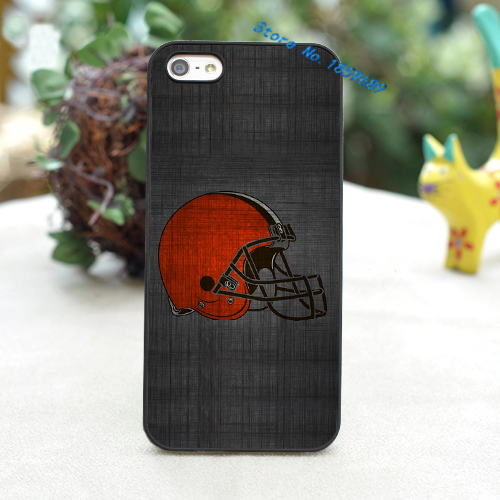 Cleveland Browns New Logo fashion cover case for iphone 4 4s 5 5s 5c for 6 & 6 plus(China (Mainland))