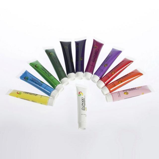 1 компл. акриловые уф-гель дизайн 3D краска трубы ногтей 12 цветов для ногтей накладные ...