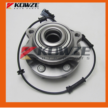 Complete Front Wheel Hub with Bearing ABS Sensor Assy for Nissan Navara Pathfinder D40 R51 2005-2014 40202-EA300 (China (Mainland))