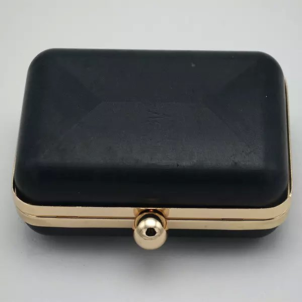 dressing case 15 * 7.6cm antique brass (purse making supplies) ball clasp and two loops<br><br>Aliexpress