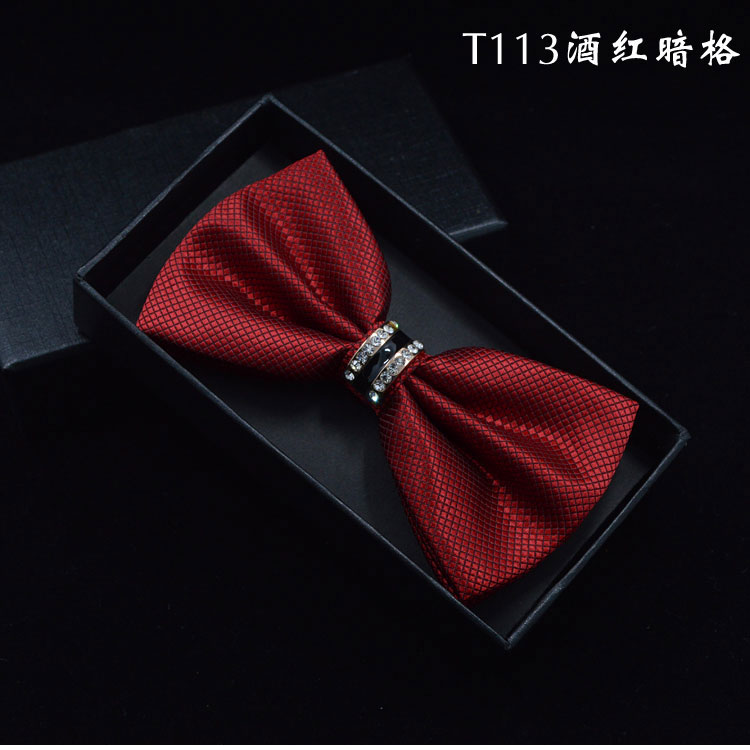2016 NEW Fashion Men and Women Polyester Cravat Adult Bow Tie Neckwear Solid Necktie Party or