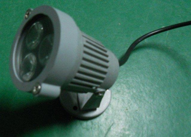 3*1W LED Lawn Lamp High power led garden light