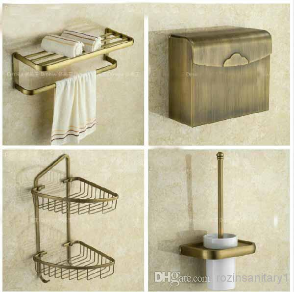Euro style antique brass bathroom accessories set bath for G style bathroom accessories