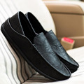 2016 Hot Sale Autumn Fashion Men Casual Slip on Soft Leather Doug Shoe Leisure Breathable Driving