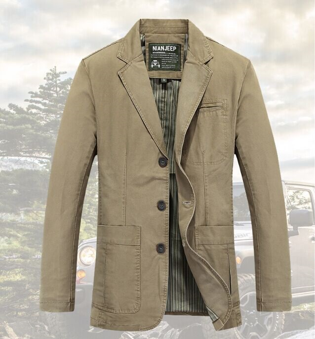 Original Brand AFS JEEP Jacket Men Autumn Winter Coat slim fit 100% nature Cotton Casual Clothing Military casual-jacket(China (Mainland))