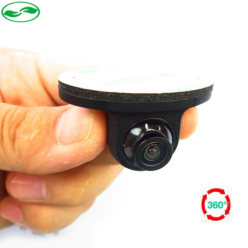 Mini CCD Coms HD Night Vision 360 Degree Car Rear View Camera Front Camera Front View Side Reversing Backup Camera(China (Mainland))