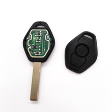 Buy 5pcs/lot General Straight Remote Key BMW X3 X5 E38 E39 E46 EWS System 3 Button 433MHZ/315MHZ (with logo) for $37.79 in AliExpress store