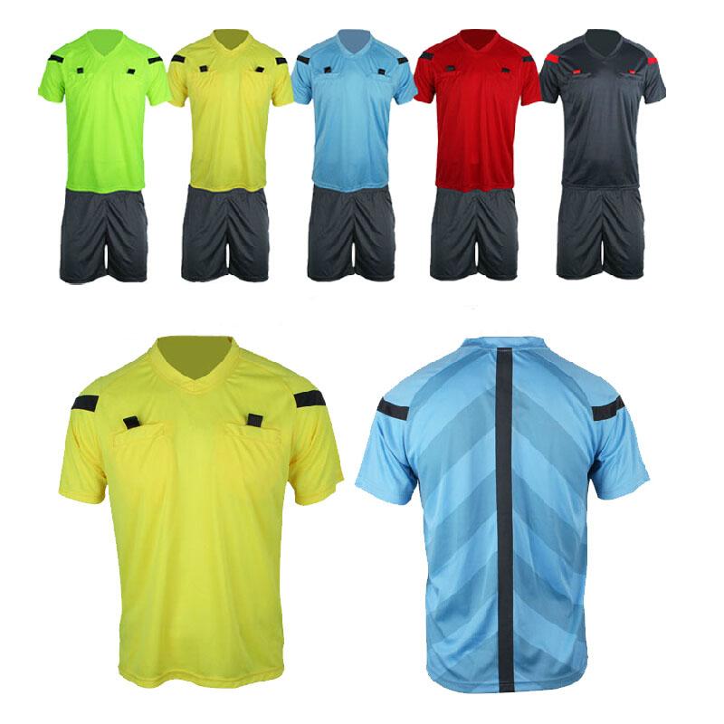 Soccer referee Uniform professional soccer referee jersey Sets clothing Football referee Jerseys referee Suits equipment(China (Mainland))