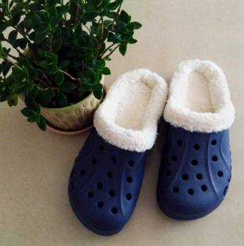 High quality men plus velvet thick cotton slippers winter warm slippers