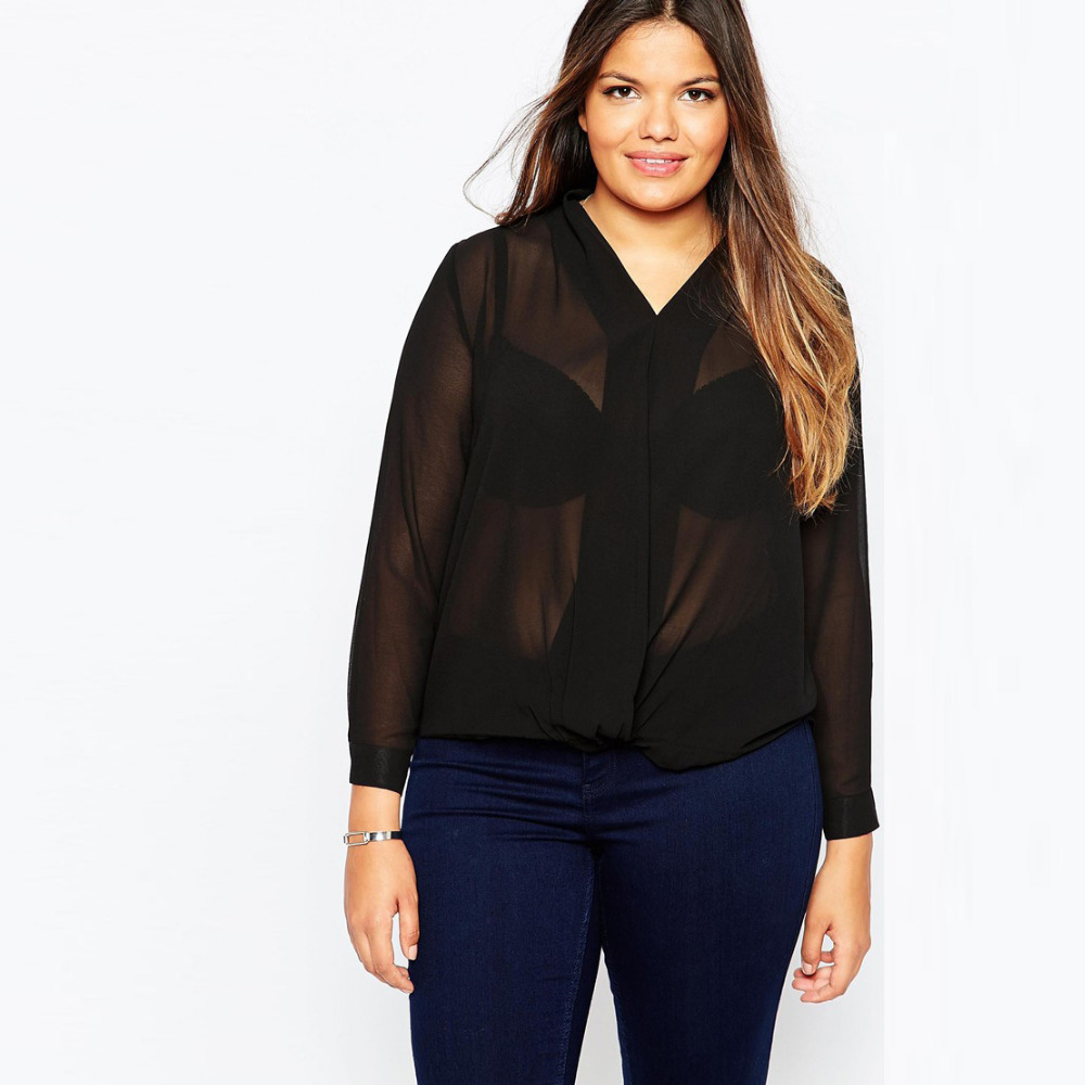 Women'S Plus Size Silk Blouses 80