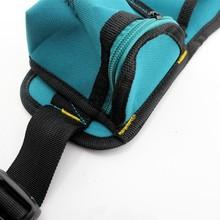 Canvas Tool Kits Bag Hanger Waterproof Wear Multi function electrician Lumbar belt Bag Waist bag Easy
