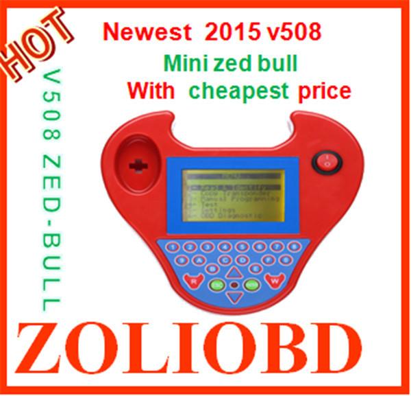 2016 Newly Auto key programmer minizedbull sale price smart zed-bull zedbull mini type - ZL Obdtoolshop Co.,Ltd. store