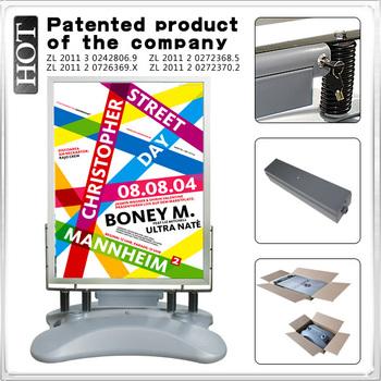 battery light box, li-lon battery light box, A0 Poster Stand.light panel, equipment