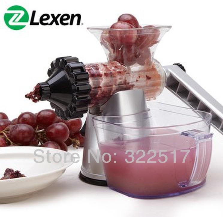 HOT SALE! LEXEN Noble Siver hand juicer manual wheatgrass Juice machine - Dofly International Co.,ltd store