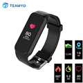 2017 New Smart Wristband B5 Bluetooth Smart band Sport Fitness Tracker Heart Rate Monitor For Apple