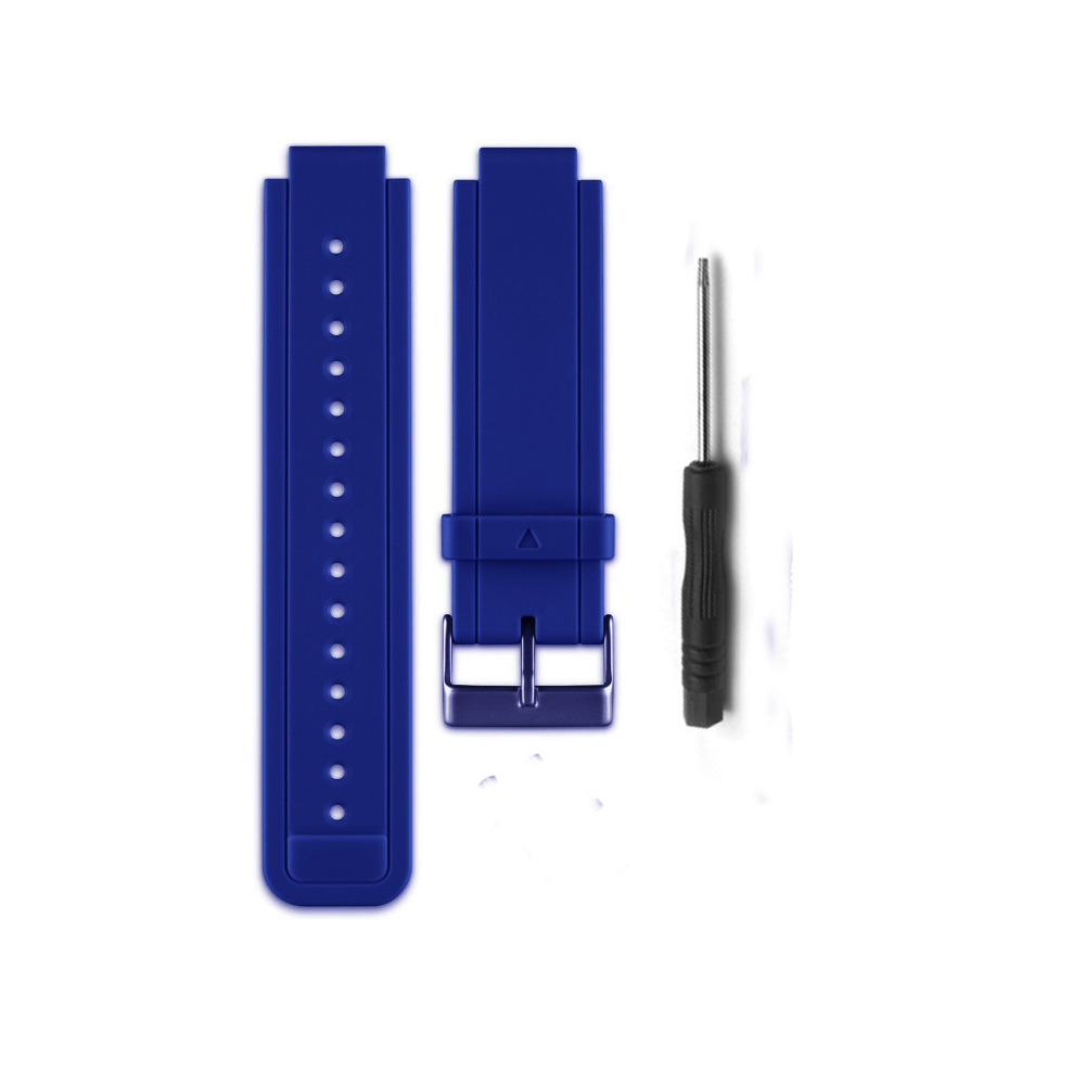 Silicone Replacement Band for Garmin Vivoactive / Rubber Sport Wristband for Garmin Vivoactive ( No tracker, Replacement Bands )