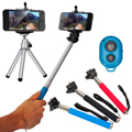 Monopod Selfie Stick Handheld Tripod Bluetooth For iPhone 4 4S 5 5S 6 Plus DC496