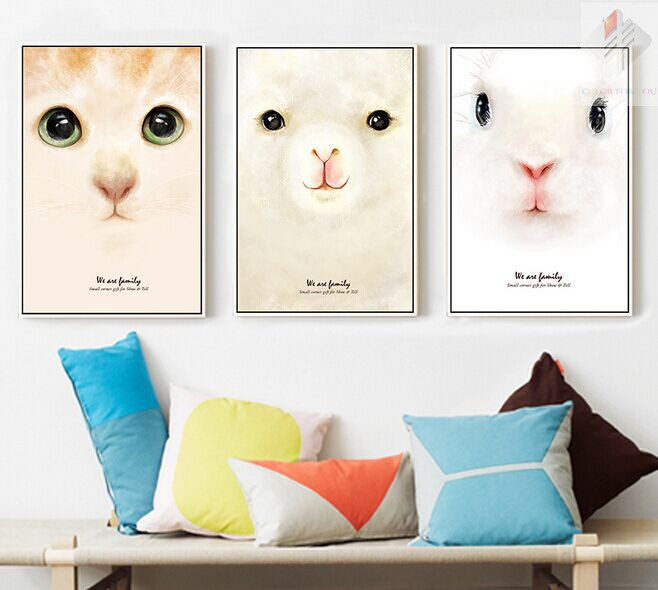 three figure cute cat Diy diamond painting pasted full rhinestone diamond painting cross stitch Embroidery Decorative Painting