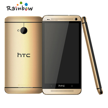 Original The HTC ONE M7 Unlocked LTE GPS WIFI 4.7''TouchScreen 4MP camera 32GB Andriod 4.12 Cell Phone Free Shipping(China (Mainland))