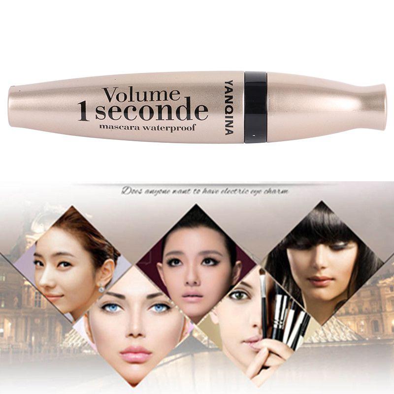 Hot Lady 3D Fiber Mascara Long Black Lash Eyelash Extension Waterproof Eye Cosmetic