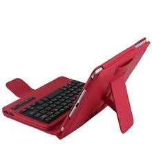 PU Leather Case Wireless Bluetooth Keyboard Portfolio Stand Detachable Cover for iPad mini 1 Mini 2 mini 3 7.9 inch Tablet(China (Mainland))