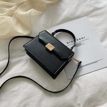 Top Quality PU de Couro das Mulheres Saco Crossbody Pequenas Bolsas de Luxo Mulheres Sacos De Designer De Moda Feminina Saco Do Mensageiro Do Ombro(China)