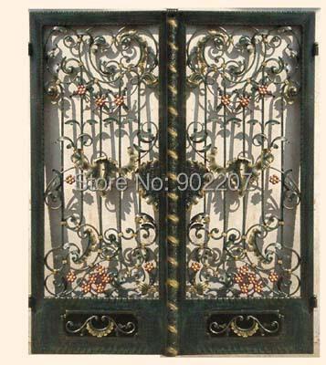 Forge porte de fer fer portes portes en fer grille en fer for Porte fer forge 2016