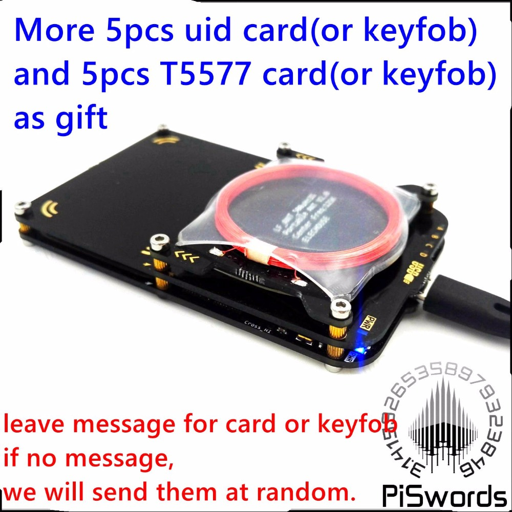 2017 latest proxmark3 develop suit 3 Kits 3.0 proxmark NFC RFID reader writer SDK UID T5577 changeable card copier clone crack