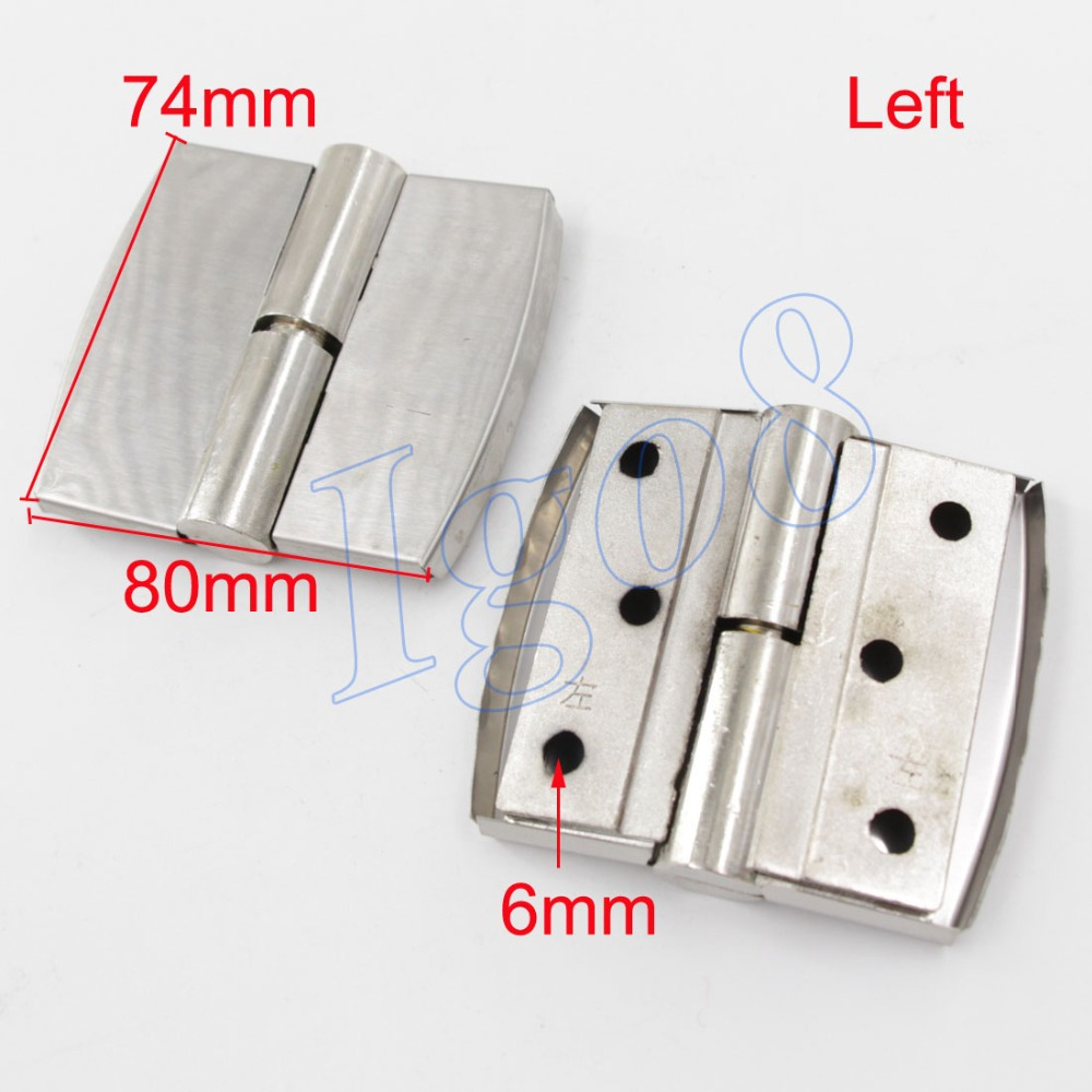 Left 80mm Toilet Partition Hinges Butt Hinge(China (Mainland))