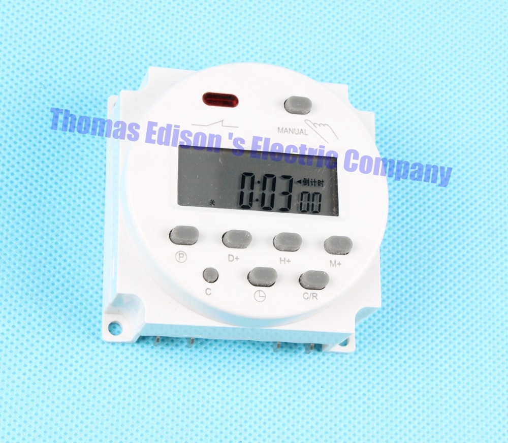 Digital time switching time controller CN101A DHC15 THC-101A  Weekly programmable electronic timer Timer  220V 10A<br><br>Aliexpress