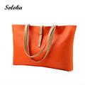 Women Bag New Fashion Women Leather Handbag Brief Shoulder Bags Large Capacity Luxury Handbags Women Bags