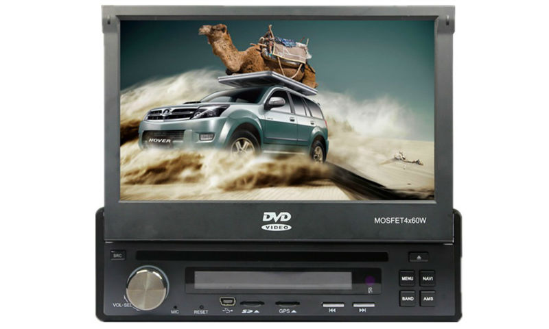 """in dash 7"""" 1Din Car DVD Player with Touch screen DVD/VCD/CD/MP3/MP4/WMA/JPEG/ USB/SD/ FM /AM(China (Mainland))"""