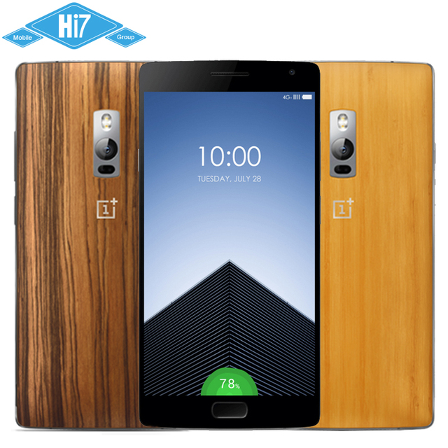 Original Oneplus Two Oneplus 2 Mobile Phone 4G FDD LTE Fingerprint Octa Core 5.5'' FHD 3GB RAM 16GB ROM Free Shipping