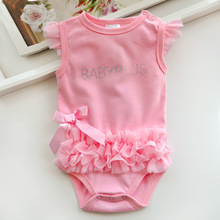 2016 Baby Girls Bodysuits For Infants Newborn Babies Clothes Bebe Summer Children Climb 100% Cotton Clothing Jumpsuit Triangle(China (Mainland))