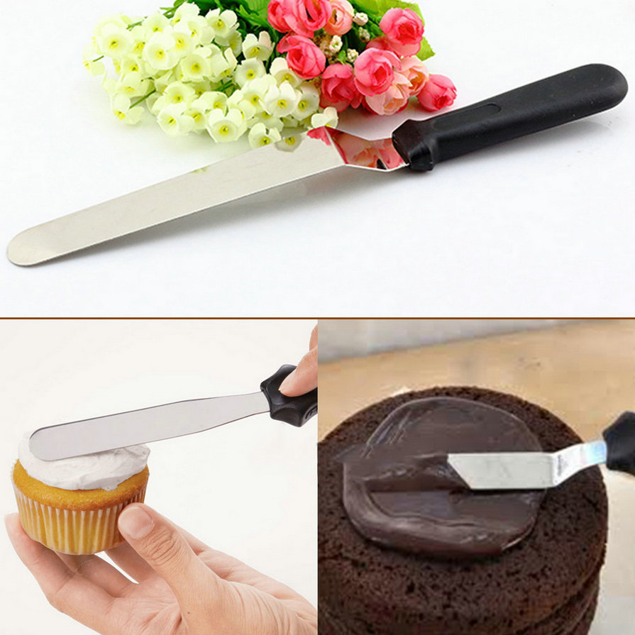 stainless steel butter cake cream knife spatula smoother