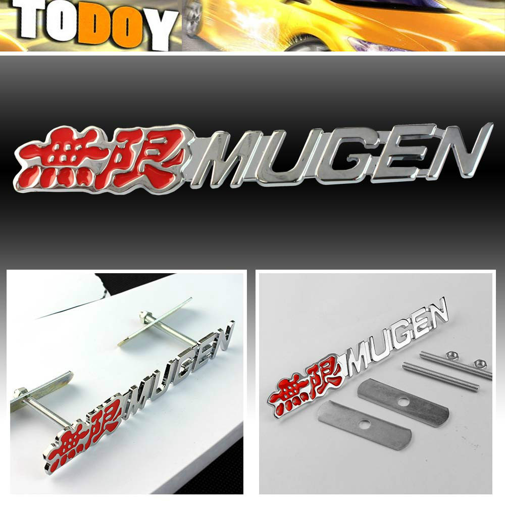 Buy M Tech Sport Front Grill Rear Trunk Badge Chrome