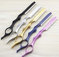 professional 2 in 1 scissors 440C hair scissors thinning shears cutting barber hairdressing scissors styling tools