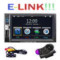 6 6 HD 2 Din Car Radio MP5 Player Touch Screen Bluetooth Phone Link Smart Phone