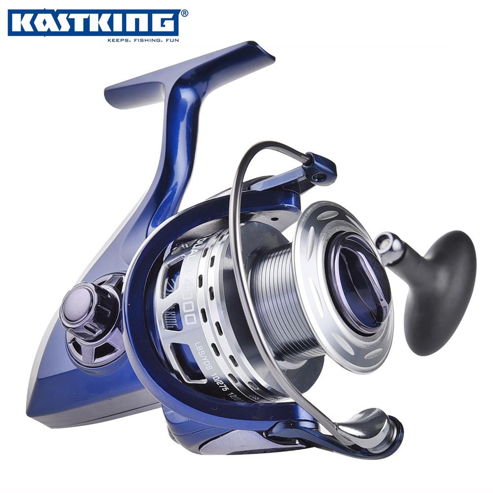 KastKing Hi-Tech Dual Gear Ratio Fishing Reel 10BB + 1 Bearing Balls 4000 5000 Series Spinning Reel Boat Rock Fishing Wheel(China (Mainland))
