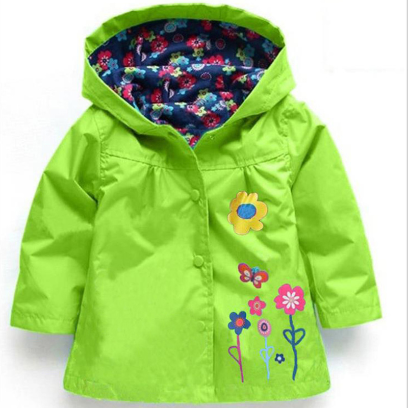 Hot sale girl's coat & jackets children hoodies kids jackets coats girls outerwear raincoat jacket for baby girl clothes(China (Mainland))