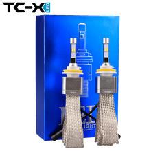 Buy TC-X 2pcs 12V 6500K H11 Car Auto Headlight Lamp H8 H9 Car Foglights Bulbs Lamp Super Bright Car Styling Car Headlight Bulb for $57.60 in AliExpress store