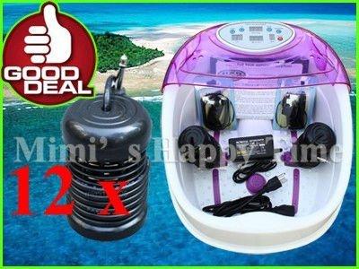 NEW TUB SPA DETOX IONIC FOOT BATH CLEANSE +12 Array kit