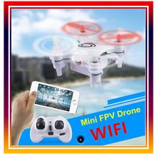 Dwi Dowellin Mini Drone 101w RC Quadcopter Nano Drone with 0.3MP Camera Mini RC WIFI FPV Drone Phone Control